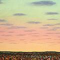 Caprock Sunrise by James W Johnson
