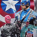 Captain America by Joseph Christensen