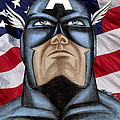 Captain America by Michael Mestas
