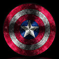 Captain America Shield by Georgeta Blanaru