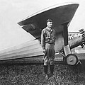 Captain Charles Lindbergh by Underwood Archives