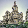 Captain George Flavel Victorian House - Astoria Oregon by Daniel Hagerman