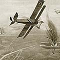 Captain Hawkers Aerial Battle by W. Avis