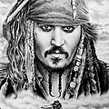Captain Jack Sparrow 2 by Andrew Read