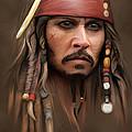 Captain Jack Sparrow by Ivan  Pawluk