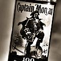 Captain Morgan Black And White by Janie Johnson