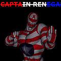 Captain Renegade Super Hero Combating Crime by R Muirhead Art