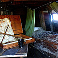 Captain's Quarters Aboard The Mayflower by Marilyn Holkham
