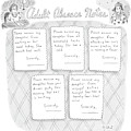 Captionless: Adult Absence Notes by Roz Chast