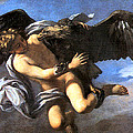 Capture Of Ganymede by Anton Domenico Gabbiani