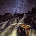Capturing A Starry Night Waterfall In by Mike Berenson / Colorado Captures