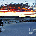 Capturing The Sunset by Vivian Christopher
