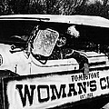 Car And Driver In Helldorado Days Parade In Tombstone Arizona 1967 by David Lee Guss