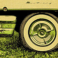 Car And Tire by Alice Gipson