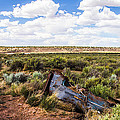Car Door In The Desert by Angus Hooper Iii