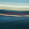 Car Light Streaks by Charmian Vistaunet