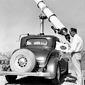 Car Mounted Telescope by Underwood Archives