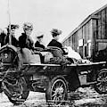 Car Race, 1908 by Granger