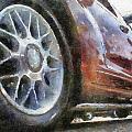 Car Rims 01 Photo Art 02 by Thomas Woolworth