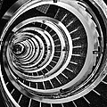 Time Tunnel Spiral Staircase In Sao Paulo Brazil by Carlos Alkmin