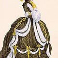 Caramel Dress For Presentation by Augustin de Saint-Aubin
