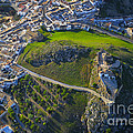 Carcabuey Castle From The Air by Guido Montanes Castillo