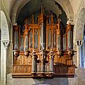 Carcassonne Organ by Jenny Setchell