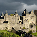 Carcassonne Stormy Skies by Robert Lacy