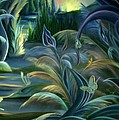 Card Design For Insects Of Enchanted Stream by Nancy Griswold