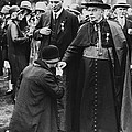 Cardinal Bourne's Hand Kissed by Underwood Archives