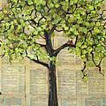Cardinals In A Tree by Blenda Studio