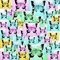 Carefree Butterflies by Cathy Jacobs