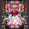 Carey Price Poster by Nicholas Legault