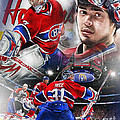Carey Price by Mike Oulton