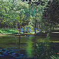 Carey's Pond by Kenneth Young