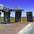 Carhenge - 12 by Gregory Dyer