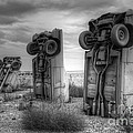Carhenge Automobile Art 3 by Bob Christopher
