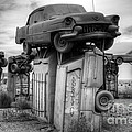 Carhenge Automobile Art 4 by Bob Christopher