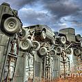 Carhenge Automobile Art by Bob Christopher