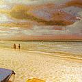Caribbean Beach by Odon Czintos