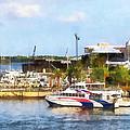 Caribbean - Dock At King's Wharf Bermuda by Susan Savad