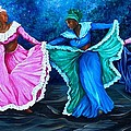 Caribbean Folk Dancers by Karin  Dawn Kelshall- Best
