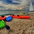 Caribbean Kayaks by Adam Jewell