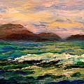 Islands And Wave by Julianne Felton