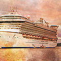 Caribbean Princess In A Different Light by Betsy Knapp