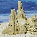 Caribbean Sand Castle  by Betty LaRue