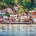 Caribbean Village by Hanny Heim
