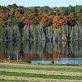 Caribou Lake Reflected by Gene Cyr