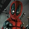 Caricature Of Deadpool by Nathan Craig Cruz