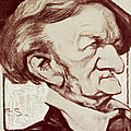 Caricature Of Richard Wagner by Anonymous